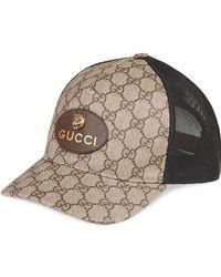 432129b4 Gucci - GG Supreme Baseball Hat - Lyst