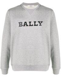 Bally ロゴ スウェットシャツ - グレー