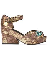 Figue - Ary Heeled Sandals - Lyst