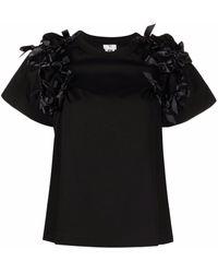 Comme des Garçons - リボンディテール Tシャツ - Lyst