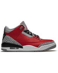 Nike Air Jordan 3 Retro Sneakers - Rood
