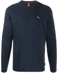 Raeburn ロゴ ロングtシャツ - ブルー