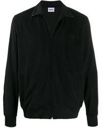 SSS World Corp ジップアップ スウェットシャツ - ブラック