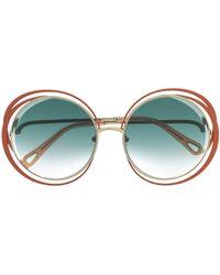 Chloé Солнцезащитные Очки Carlina - Многоцветный