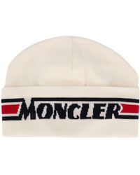 Moncler - ロゴ ハット - Lyst