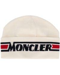 Moncler ロゴ ハット - マルチカラー