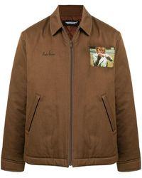 Undercover グラフィック ライトジャケット - ブラウン