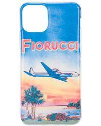 Fiorucci サンセット Iphone 11pro ケース - ブルー