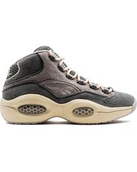 Reebok Question Mid Trainers - Grey