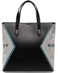 Givenchy Bond Draagtas Met Logoprint - Zwart