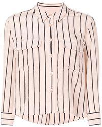 Equipment - Classic Striped Shirt - Lyst