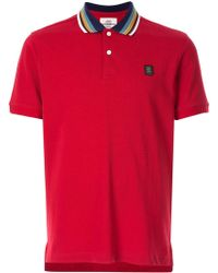 Kent & Curwen - コントラストカラー ポロシャツ - Lyst