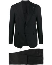 Tagliatore Zweiteiliger Anzug - Schwarz