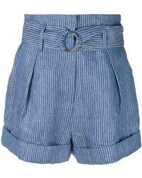 Mara Hoffman - Belted Shorts - Lyst