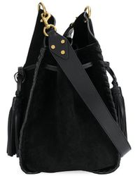 Isabel Marant Taj Bucket Bag - Black