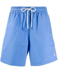 Polo Ralph Lauren Hawaiian トランクス水着 - ブルー