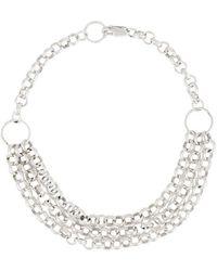 Petite Grand - Three Chain Bracelet - Lyst