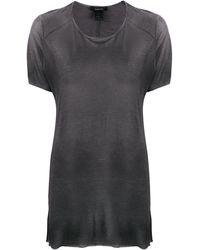 Avant Toi オーバーサイズ Tシャツ - ブラック