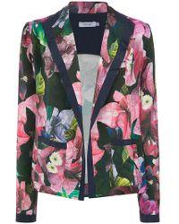 Isolda - Floral Print Blazer - Lyst