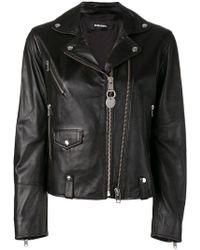 DIESEL - L-lyf Biker Jacket - Lyst