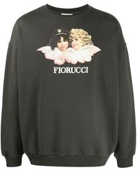 Fiorucci 'Vintage Angels' Sweatshirt - Mehrfarbig