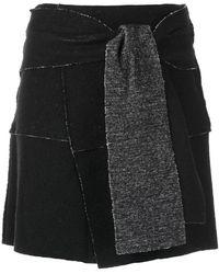 UMA   Raquel Davidowicz - Wrap Style Skirt - Lyst
