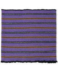 Lanvin - Striped Polo Scarf - Lyst