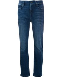 7 For All Mankind - スキニージーンズ - Lyst