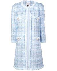 Edward Achour Paris - Long Tweed Coat - Lyst