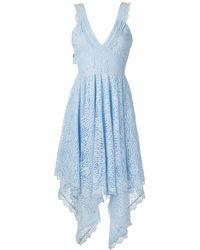 Olympiah Petale Midi Dress - Blue