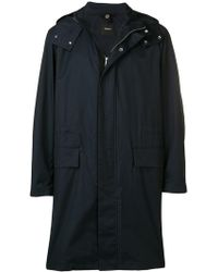 Theory - Hooded Raincoat - Lyst