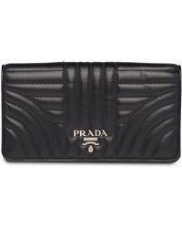 Prada - ダイアグラム チェーンウォレット - Lyst