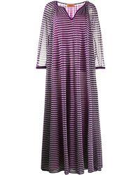 Missoni - Striped Long Dress - Lyst