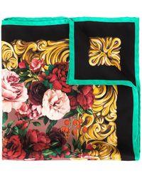 Dolce & Gabbana Sjaal Met Barokprint - Meerkleurig