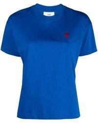 AMI Ami De Coeur Tシャツ - ブルー