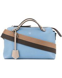 Fendi - Striped Strap Crossbody Bag - Lyst