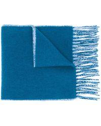 Vivienne Westwood Orb Print Scarf - Blue