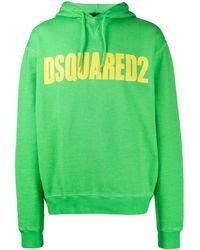 DSquared² - Logo Print Sweatshirt - Lyst