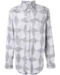 Engineered Garments - Abstract Pattern Shirt - Lyst