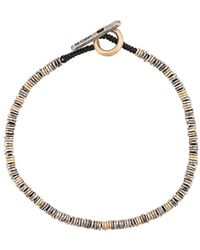 M. Cohen Barcode Bracelet - Metallic