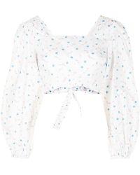Alice McCALL Limonata Cropped Top - White