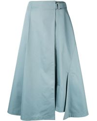 Enfold ラップスカート - ブルー