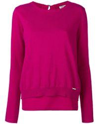 Liu Jo - Long-sleeve Fitted Sweater - Lyst