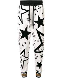 Dolce & Gabbana - フローラル トラックパンツ - Lyst