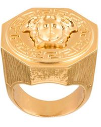 Versace Medusa-ring - Metallic