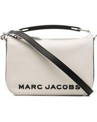 Marc Jacobs The Softbox レザーショルダーバッグ - マルチカラー