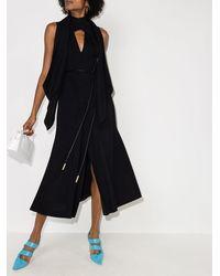 Fendi カットアウト ドレス - ブラック