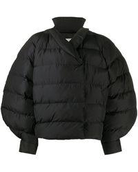 Henrik Vibskov オーバーサイズ パデッドジャケット - ブラック