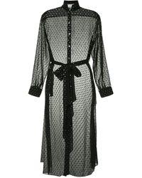OSMAN ドット ドレス - ブラック