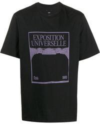 OAMC グラフィック Tシャツ - ブラック